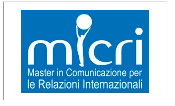 Master MICRI/IULM