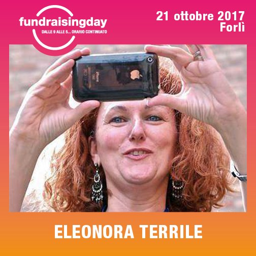 Docente al Digital Fundraising Day