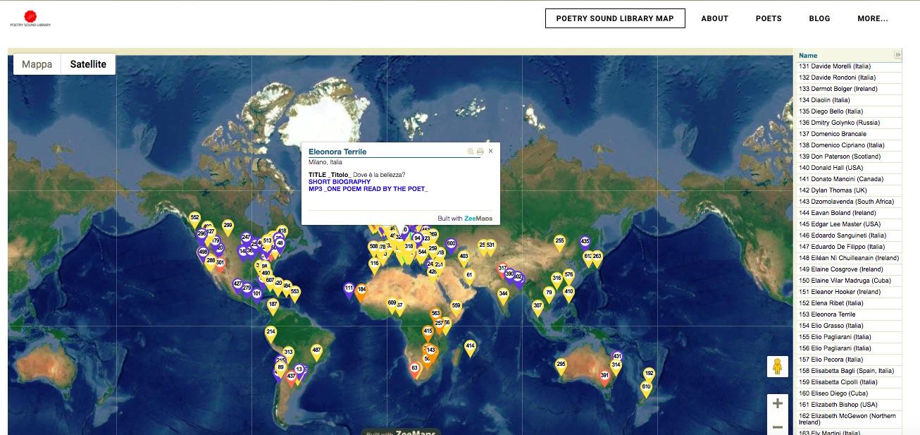 Il Manifesto Poetico di Labelluli nella Mappa Sonora Mondiale della Poesia