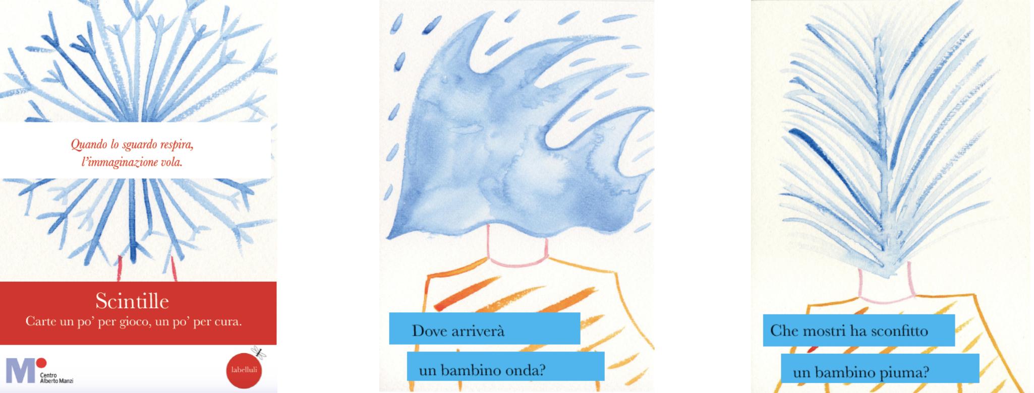 La parola ad Andrea Prandin e Antonia Chiara Scardicchio sulle carte Scintille.